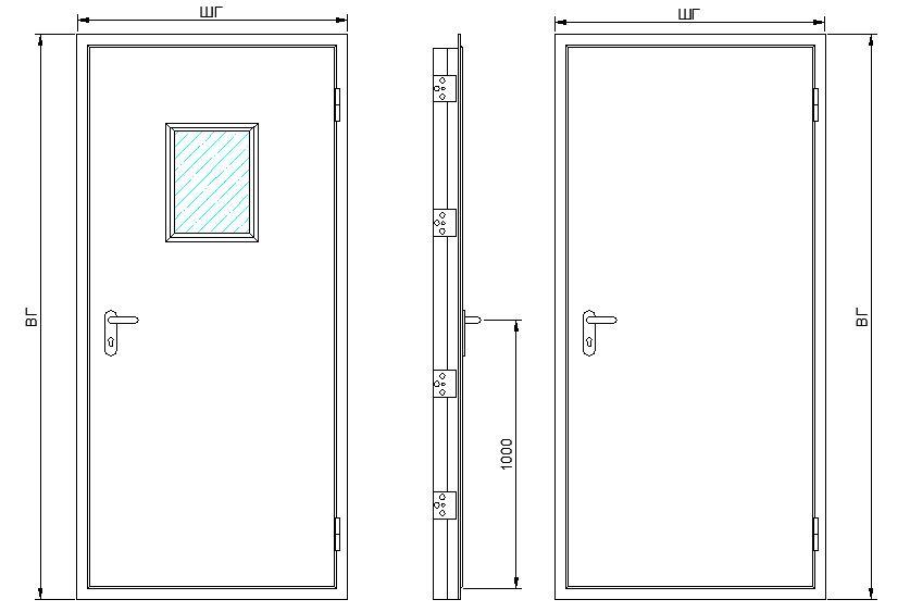 двери входные металлические однопольные цена